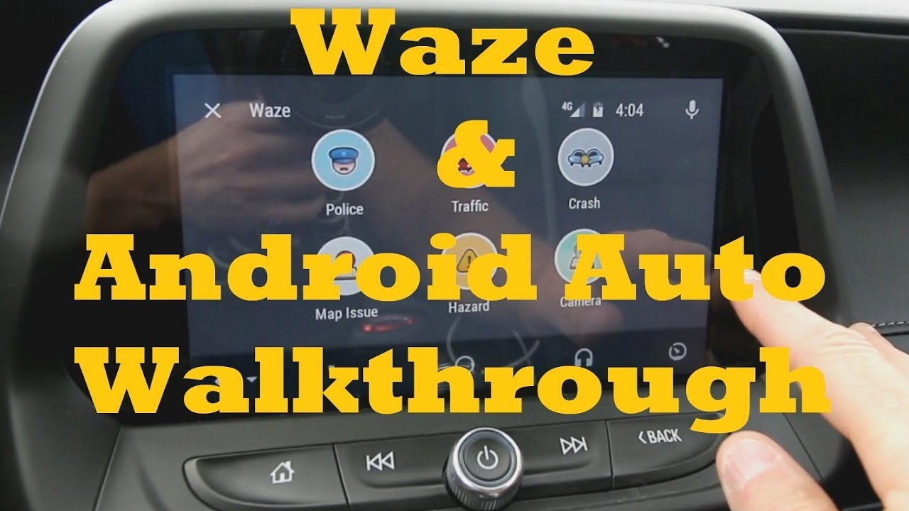 Android Auto and Waze Integration - 2016 Camaro