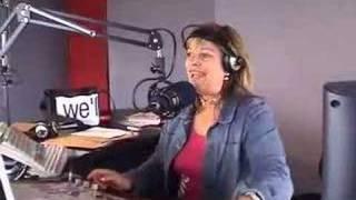 Radio station studio tour