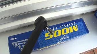 neuen Spurstangenkopf der Firma Moog für Nissan Micra K12 Einbauseite rechts
