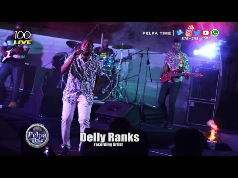 Delly Ranks Performance at 100 LIVE 90'S DANCEHALL