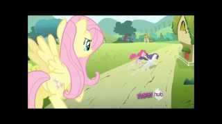 Fluttershy makes Pinkie and Rarity cry [1080p HD]