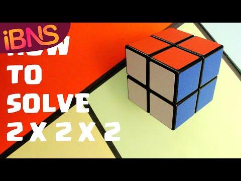 How to solve a 2x2x2 Rubik's Cube: Easiest Beginner Tutorial in HD