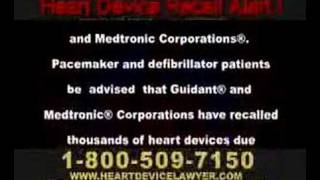 Guidant Pacemaker & Defibrillator Recall