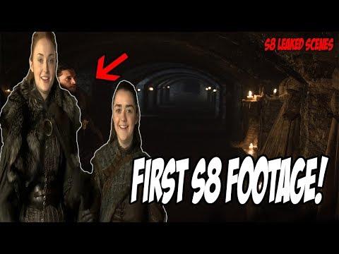 First Season 8 Footage! Game Of Thrones Season 8 (Leaked Scenes)