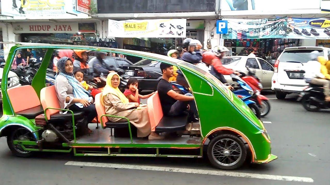Naik Mobil Odong Odong Keliling Kota Tasikmalaya Melihat Suasana Ramadhan Youtube