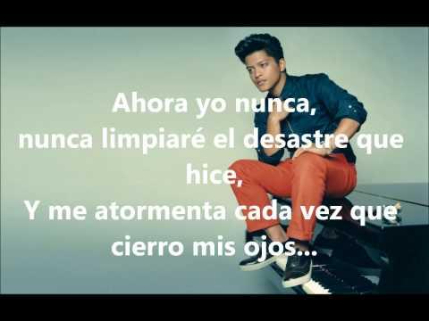 Bruno Mars-When I Was Your Man (Subtitulado en Español)