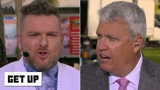 Pat McAfee and Rex Ryan disagree over Super Bowl LIV predictions | Get Up