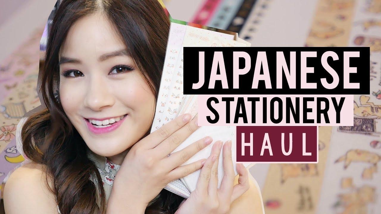 JAPANESE / KOREAN Stationery Haul | BACK TO SCHOOL SHOPPING