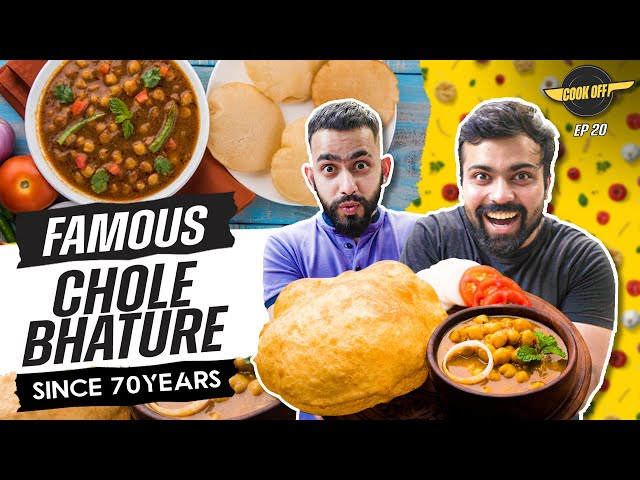 Chole Bhature Cooking Challenge at Sita Ram Diwan Chand | [Cook Off#20]