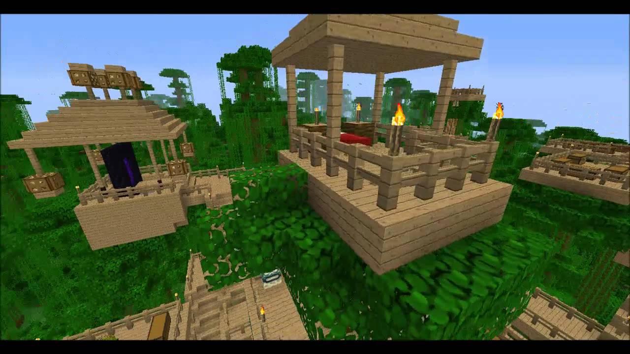 Minecraft la mia casa sull 39 albero youtube - Casa sull albero minecraft ...
