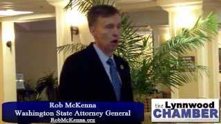 The Lynnwood Chamber Presents Rob McKenna, Washington Attorney General (Part 2)