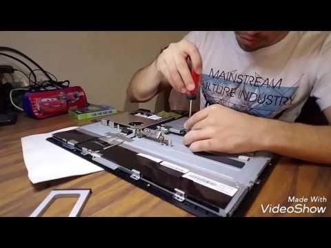 Cambiando disco duro all in one acer