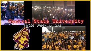 Central State University Pirate Week 2018   Hanging with SAs, Talent Show, Party, Greeks, and MORE!