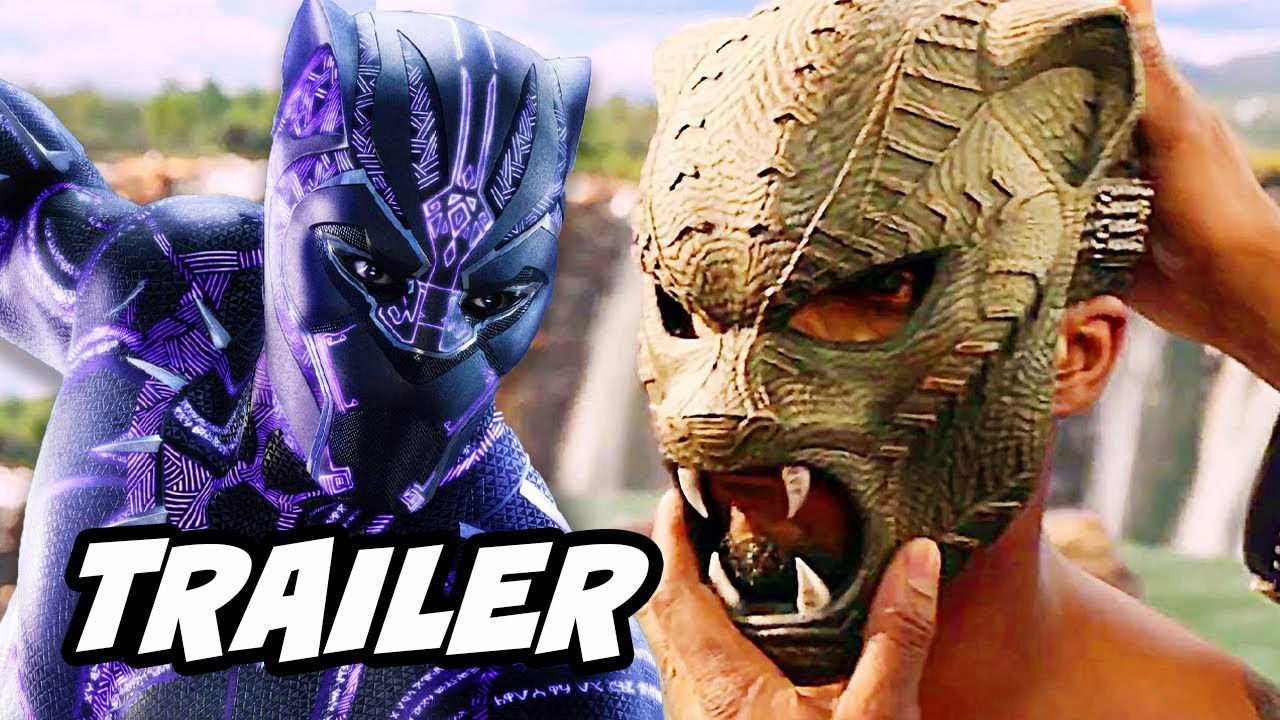 Black Panther Trailer 2 – Infinity War and Captain America Theory