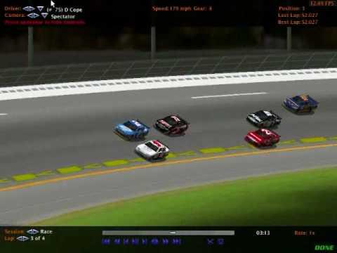 NASCAR RACING 2007 SEASON SERIES THREE The Gatorade Duel At Daytona
