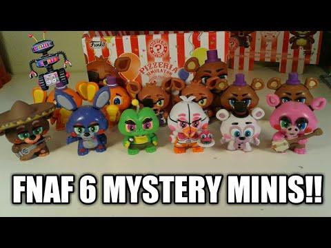 FNAF 6 MYSTERY MINIS!!!