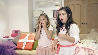Watch Sophia Grace and Rosie receive an unexpected invitation to co...