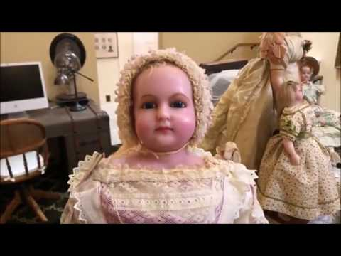 Four Centuries of Wax Antique Dolls