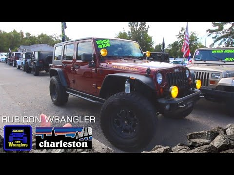 Here's a 2007 Jeep Wrangler Unlimited Rubicon w/ Off-Road 4x4 Accessories   For Sale Review Tour