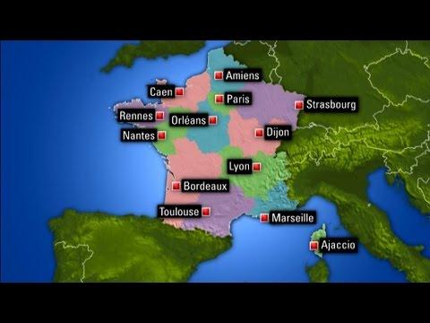 Réforme territoriale: la liste des 13 nouvelles villes préfecture de région