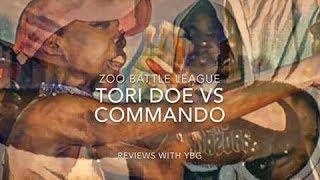 TORI DOE VS COMMANDO/THE ZOO BATTLE LEAGUE/ZOOMANIA 1