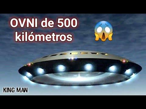 El más gigantesco OVNI registrado por un satélite con un diámetro de 500 kilómetros ???
