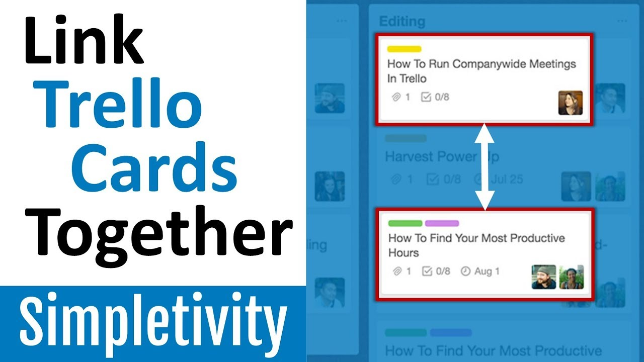 How To Connect Trello Cards Together Youtube