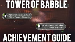 "*new* Black Ops 2 Zombies- How To Complete ""tower Of Babble"" Achievement Guide!"