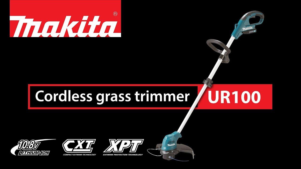 Seneste Makita grass trimmer UR100 - YouTube TA61