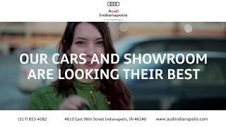 Shop with confidence at audi indianapolis