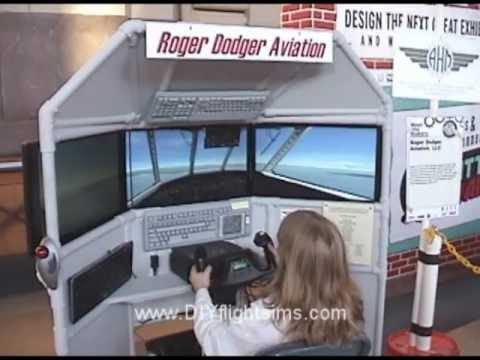 Super Awesome Sylvia and the DIY Flight Simulator