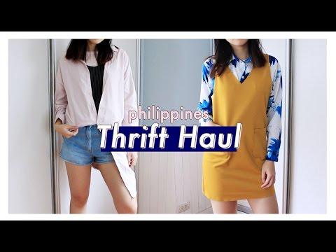 Thrift Haul (Philippines) | Nadine Felice