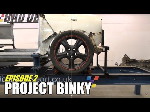 Project Binky - Episode 2 - Austin Mini GT-Four - Turbo Charged 4WD Mini