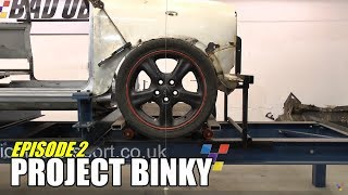Project Binky - Episode 2 - Austin Mini GT-Four - Turbo Charged 4WD Mini
