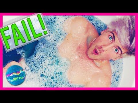 BATH BOMB FAIL!