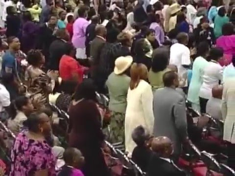 The Late Great Rev. Timothy Wright Leading the Choir At AIM COGIC!