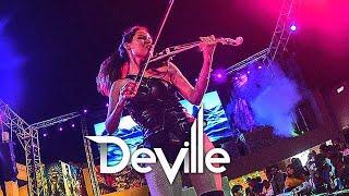 International Club Violinist with DJ   Caitlin DeVille