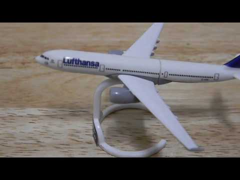 A Short Video About: Kinder Surprise Egg AIRBUS A330-300 Toy Plane