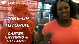 Top three make-up tips from Diamond League stars