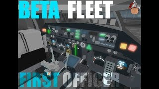 ROBLOX MY FIRST DAY WORKING AT BETA FLEET!