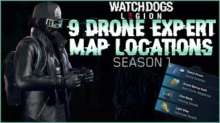 Watch Dogs Legion Online - Drone Expert Map Locations