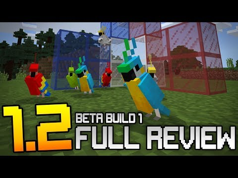 MINECRAFT 1.2 FEATURES & GAMEPLAY!!! - Beta Build 1 Full Review & Showcase (Win10, XB1, Android)