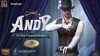 New Character ANDY Upgraded To Max Level 10 | 20.000 UC + GIVEAWAY FREE UC | PUBG MOBILE