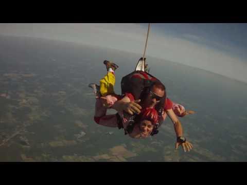 Holly Kerr Tandem Skydive at Cleveland Skydiving Center 2016