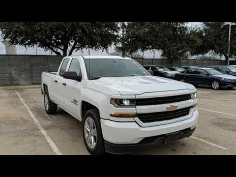 Used 2017 Chevrolet Silverado 1500 Dallas TX Garland, TX #V190335A