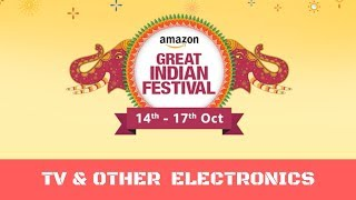 Amazon Diwali Sale Offers - TV, Laptops, Other Electronic Items | With Buying Links - Part - 2
