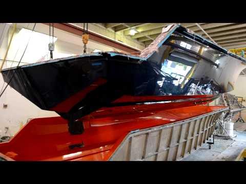 New 390 Sea Vee Hull