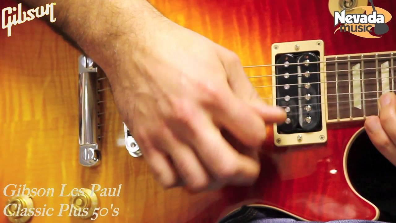 Gibson Les Paul Classic Plus Heritage Cherry Sunburst Demo   PMTVUK