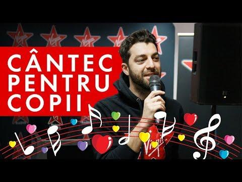 Cântec pentru copii | Bogdan, Shurubel și Ionuț (LIVE @Virgin Radio Romania)