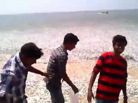 Unbelievable Fish catching!!! at Arthunkal beach on 28/01/2013
